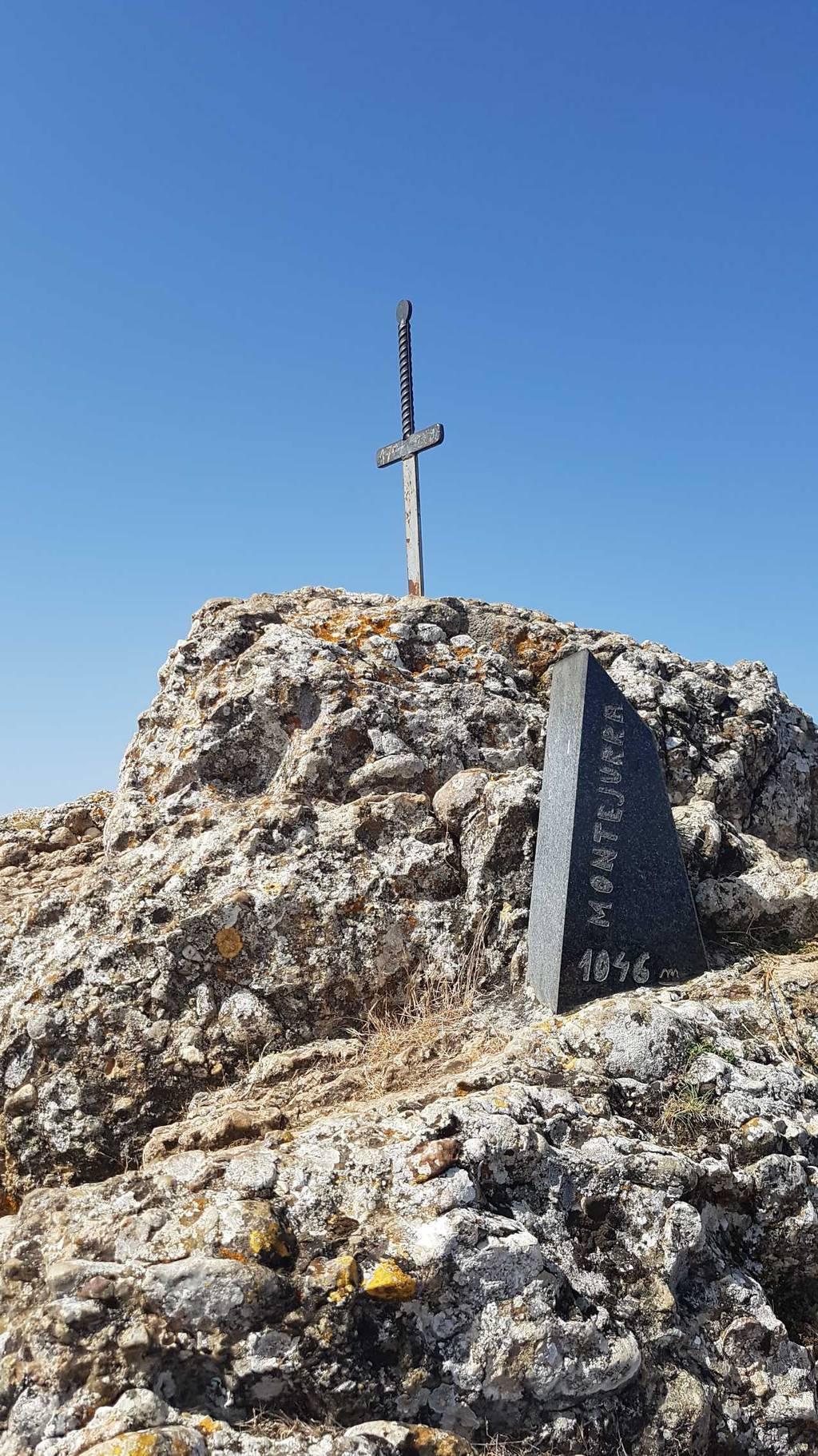 Anjel Bergaretxe erabiltzailea Montejurra / Jurramendi puntan, 2021-08-11 11:32