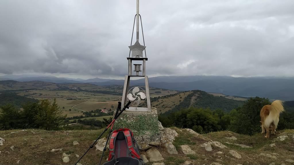 Amaia Zabala erabiltzailea Estuñaga / Alto del Corral puntan, 2021-08-17 10:39