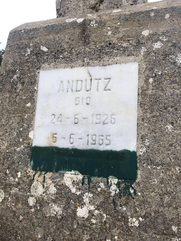 izaskun  erabiltzailea Andutz puntan, 2021-08-30 11:36