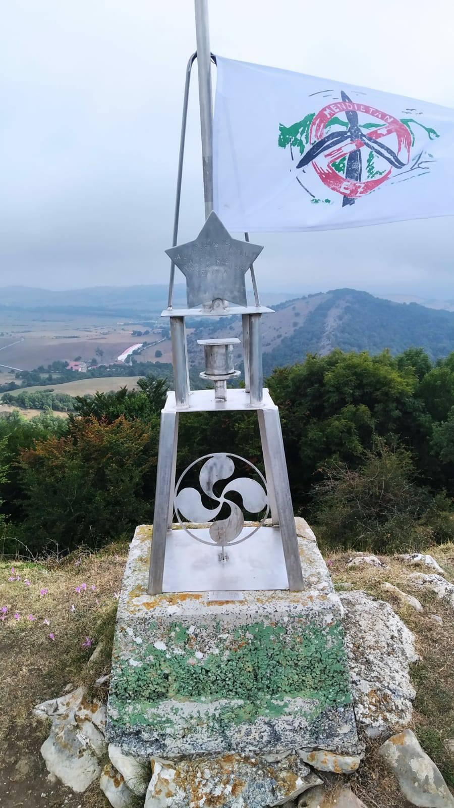 AneeeAM erabiltzailea Estuñaga / Alto del Corral puntan, 2021-08-30 10:24