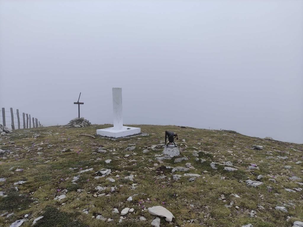 asier landa erabiltzailea Trekua / Alto de las Bordas Viejas puntan, 2021-09-05 10:20