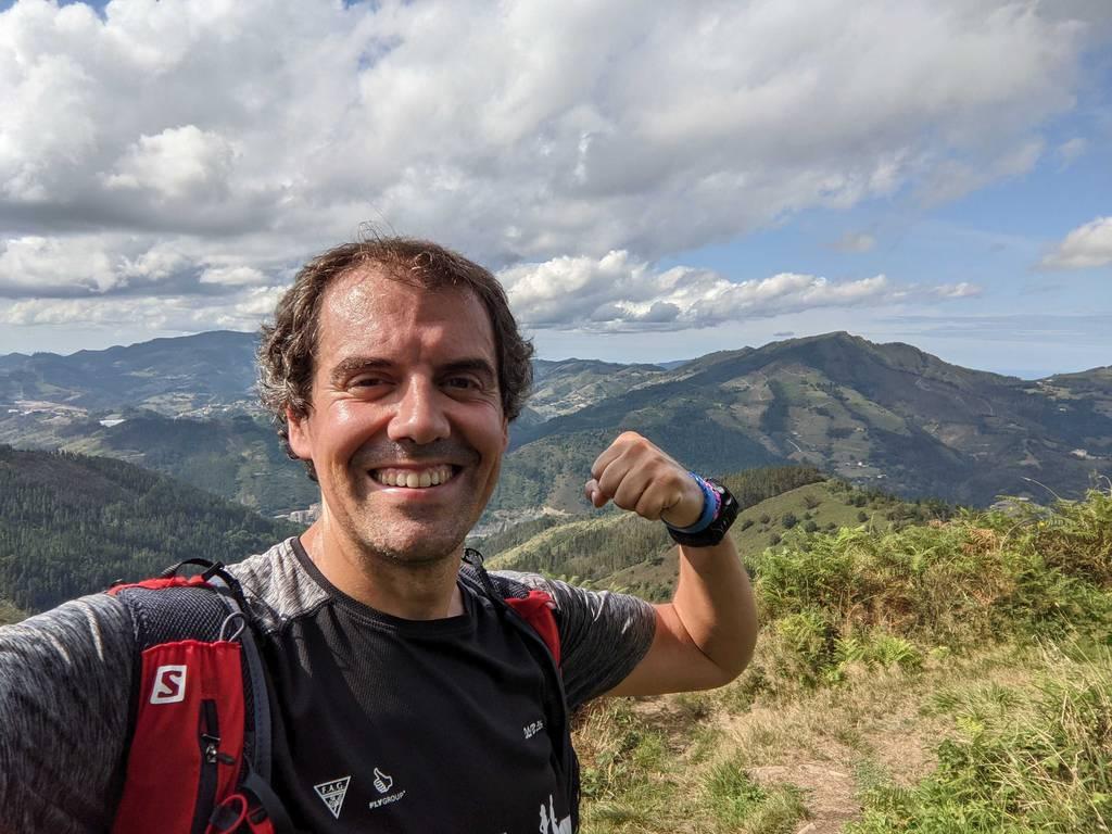 Mikel Lizarralde erabiltzailea Galdaramuño puntan, 2021-09-09 16:22