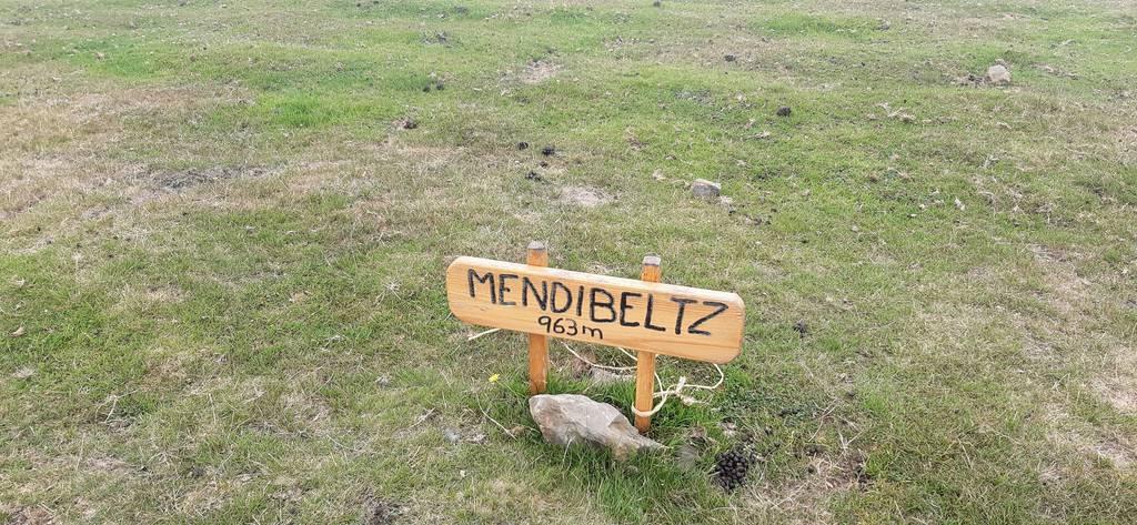 Iñako erabiltzailea Mendibeltz puntan, 2021-07-25 14:15