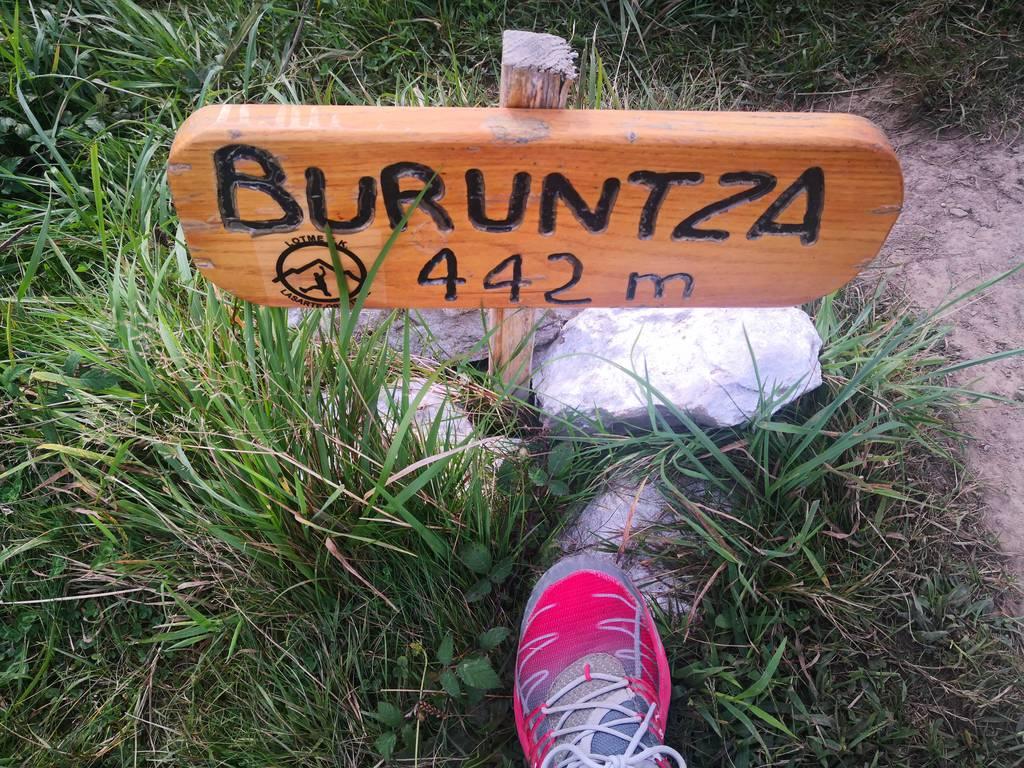 Ainhoa A. erabiltzailea Buruntza puntan, 2021-09-13 10:48
