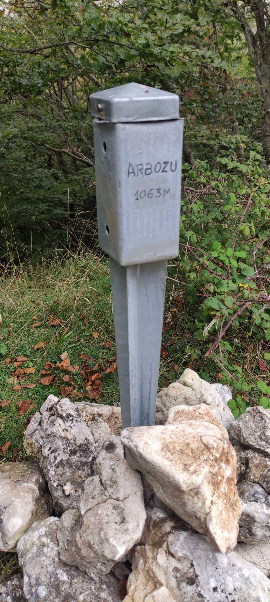 Benito Kamela erabiltzailea Arbozu puntan, 2021-10-09 13:01