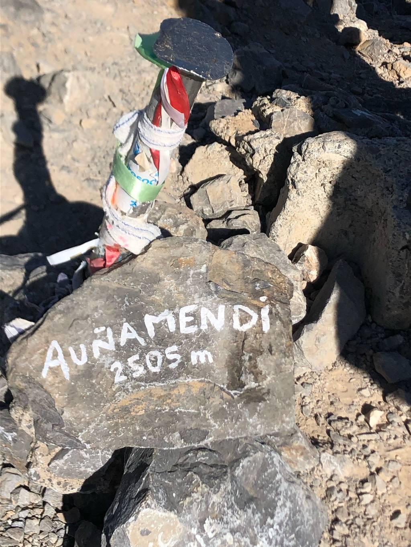 Saioa Arzamendi erabiltzailea Auñamendi / Ania puntan, 2021-10-12 12:57