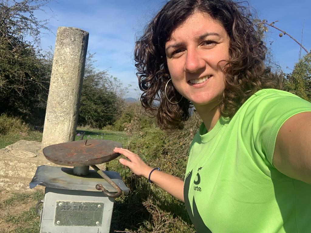 Patricia Lázaro Barinagarrementeria erabiltzailea Arañotz puntan, 2021-10-16 12:11