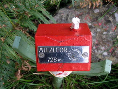 Aizleor / Unamendi mendiaren argazkia