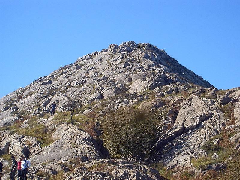 Pico de la Cruz mendiaren argazkia