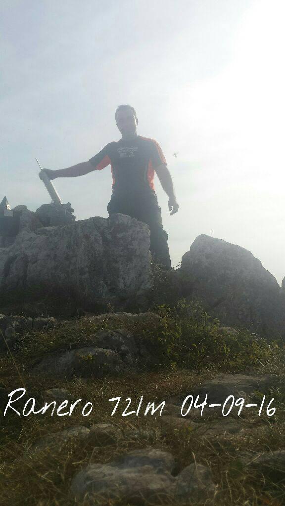 Irrintzi L erabiltzailea Pico del Carlista (Ranero) puntan, 2016-09-04 13:47